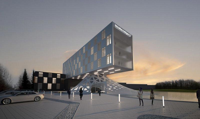 Bochum mitte altenbochum hamme riemke projekte diskussion skyscrapercity - Architekturburo bochum ...