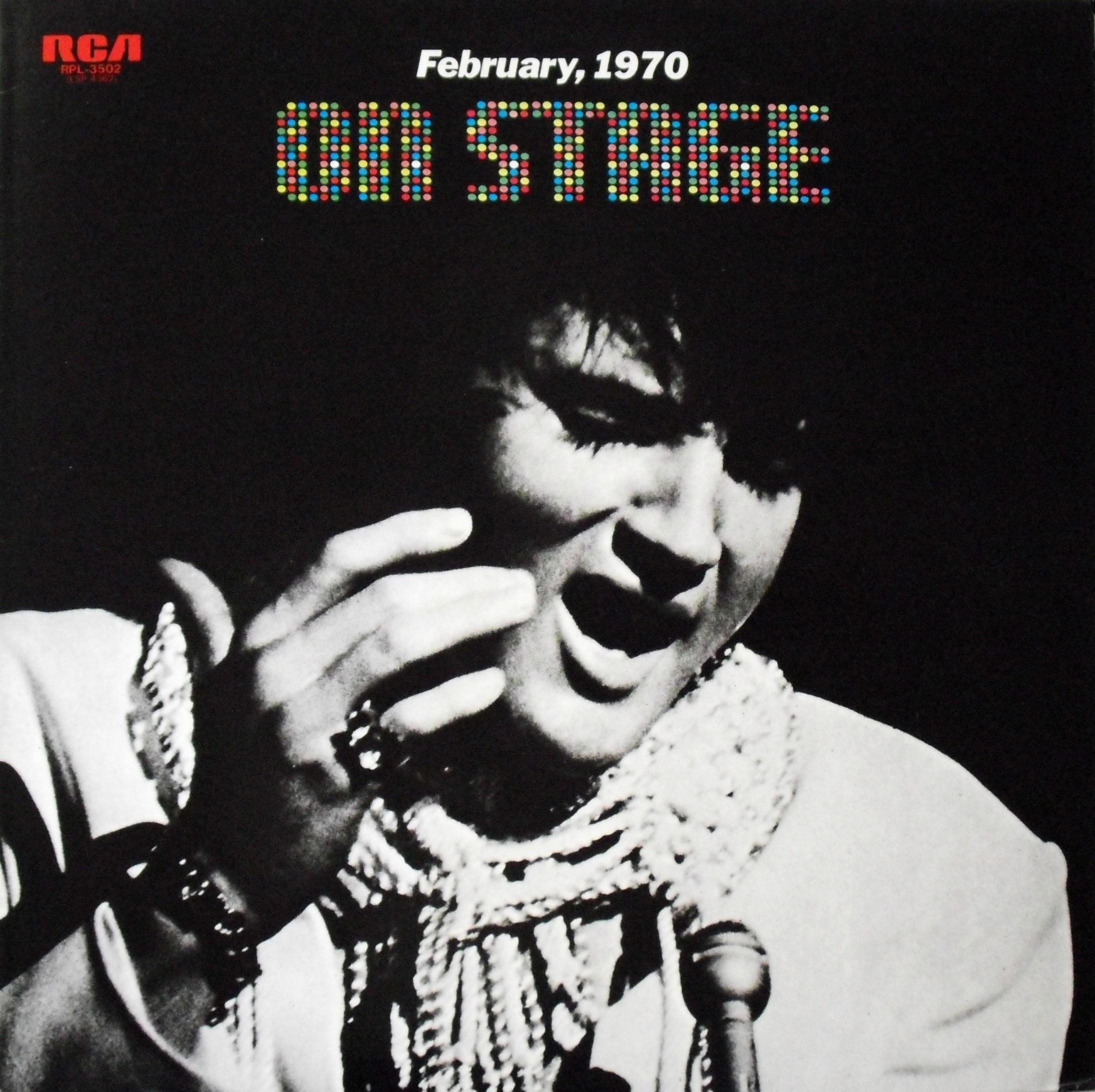 ON STAGE - FEBRUARY 1970 0129u3v