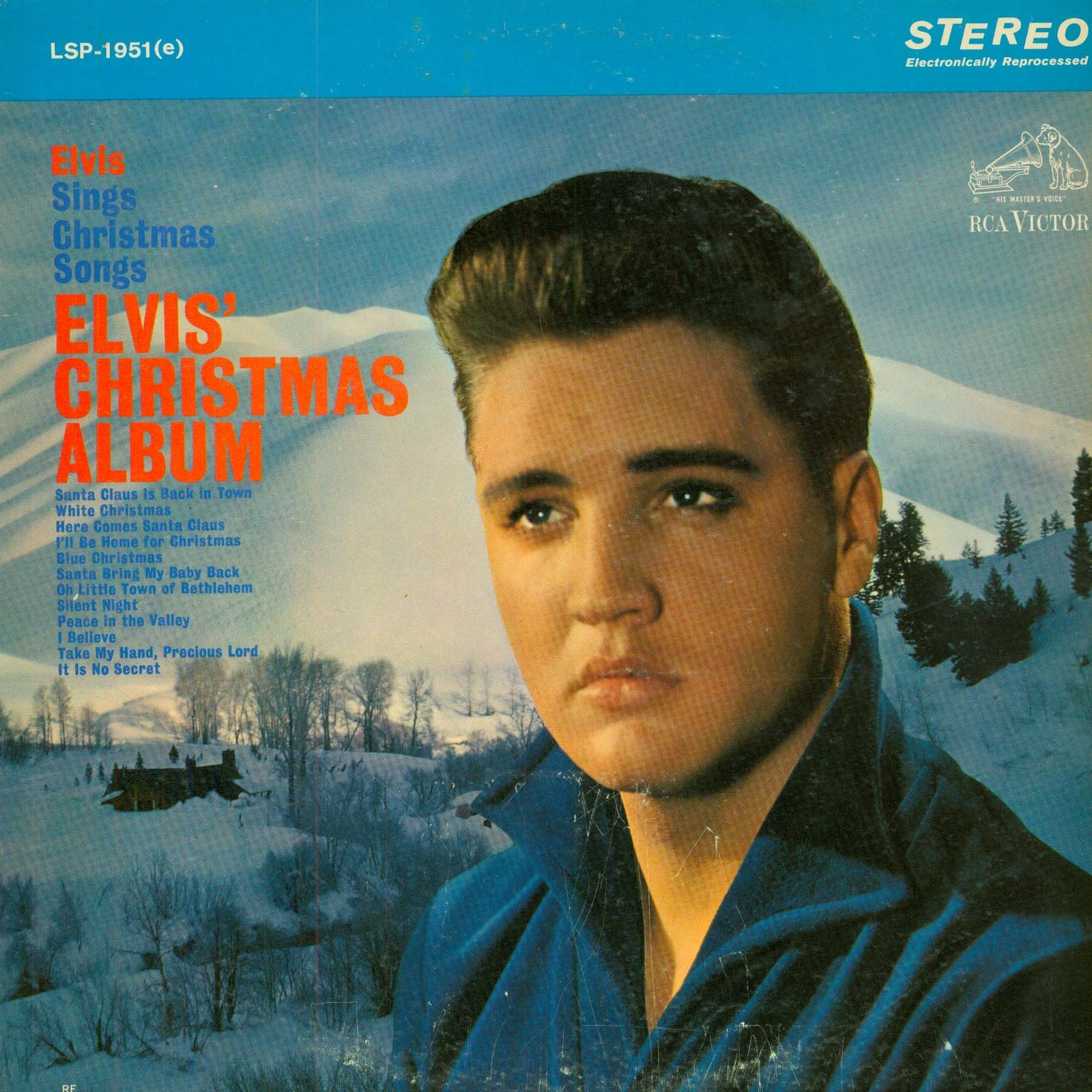 ELVIS' CHRISTMAS ALBUM 013dbvu