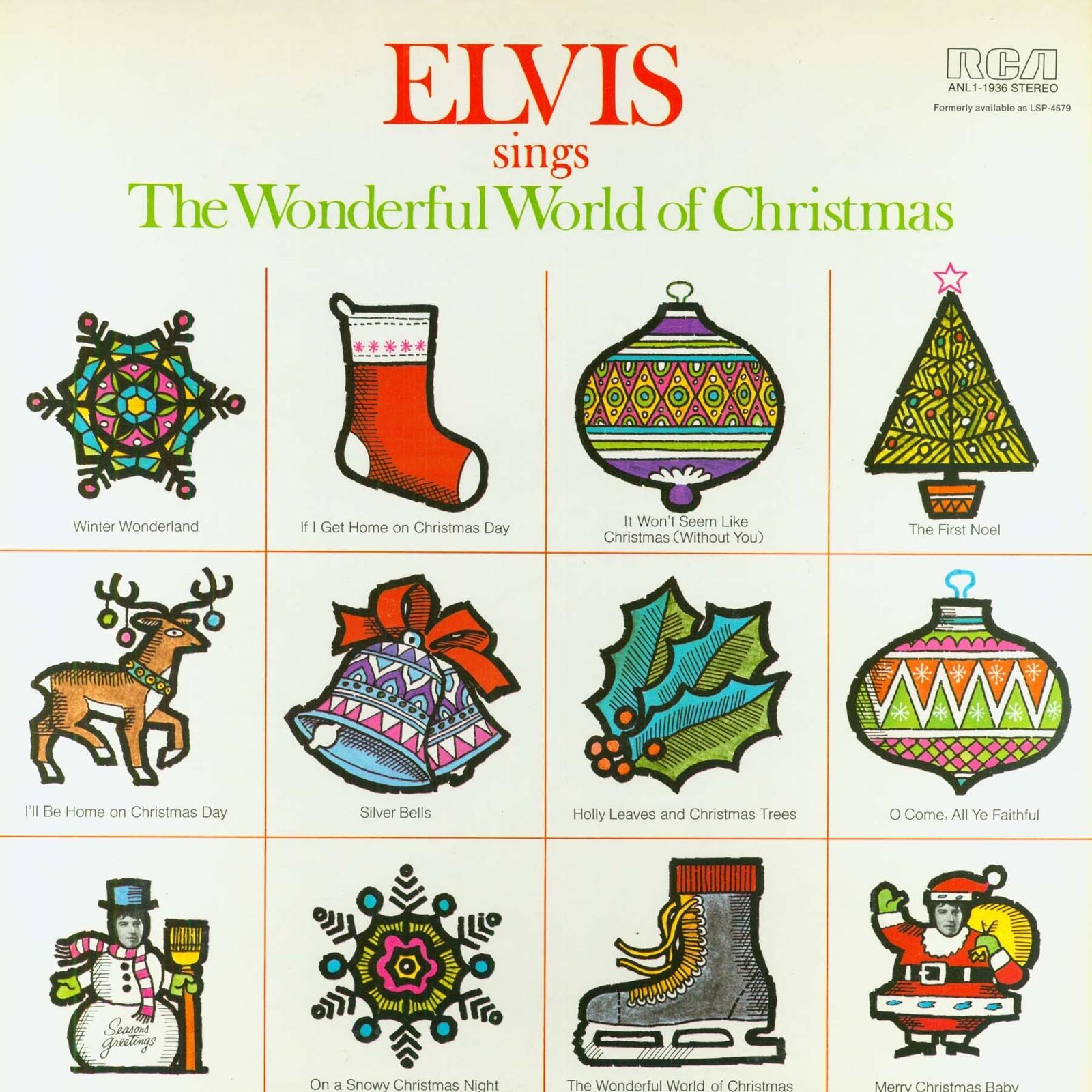 ELVIS SINGS THE WONDERFUL WORLD OF CHRISTMAS 014ms6p