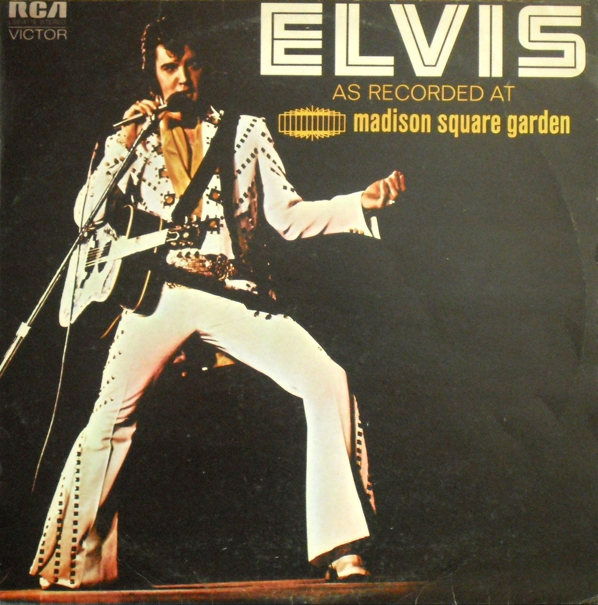 ELVIS AS RECORDED AT MADISON SQUARE GARDEN 01gus1w