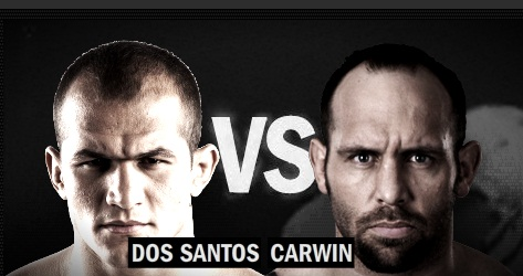 Dos Santos vs. Carwin (Foto via Zuffa LLC)