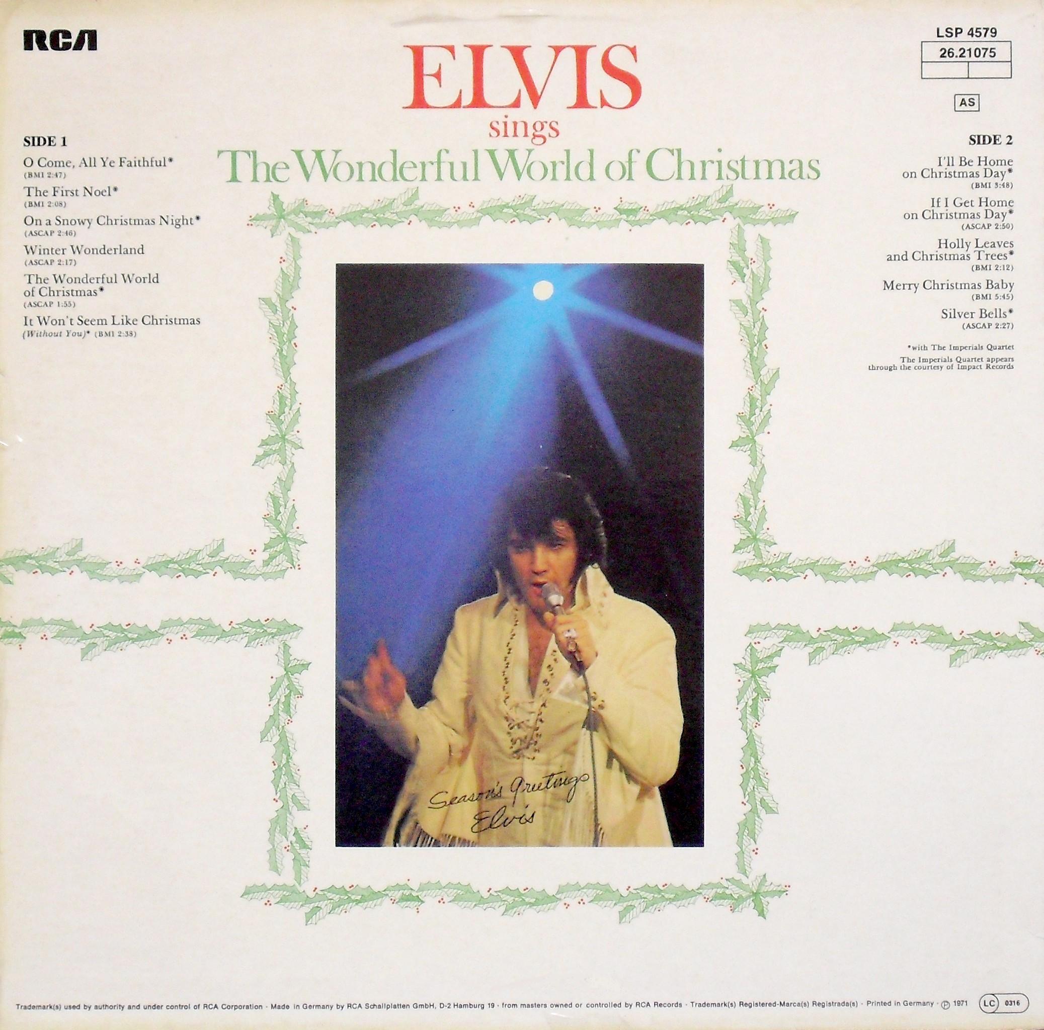 ELVIS SINGS THE WONDERFUL WORLD OF CHRISTMAS 02a2je0