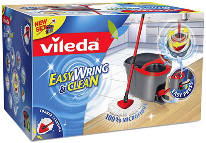 ebay WOW: Vileda Easy Wring und Clean Wischmop Set mit Schleuder für 29,99€