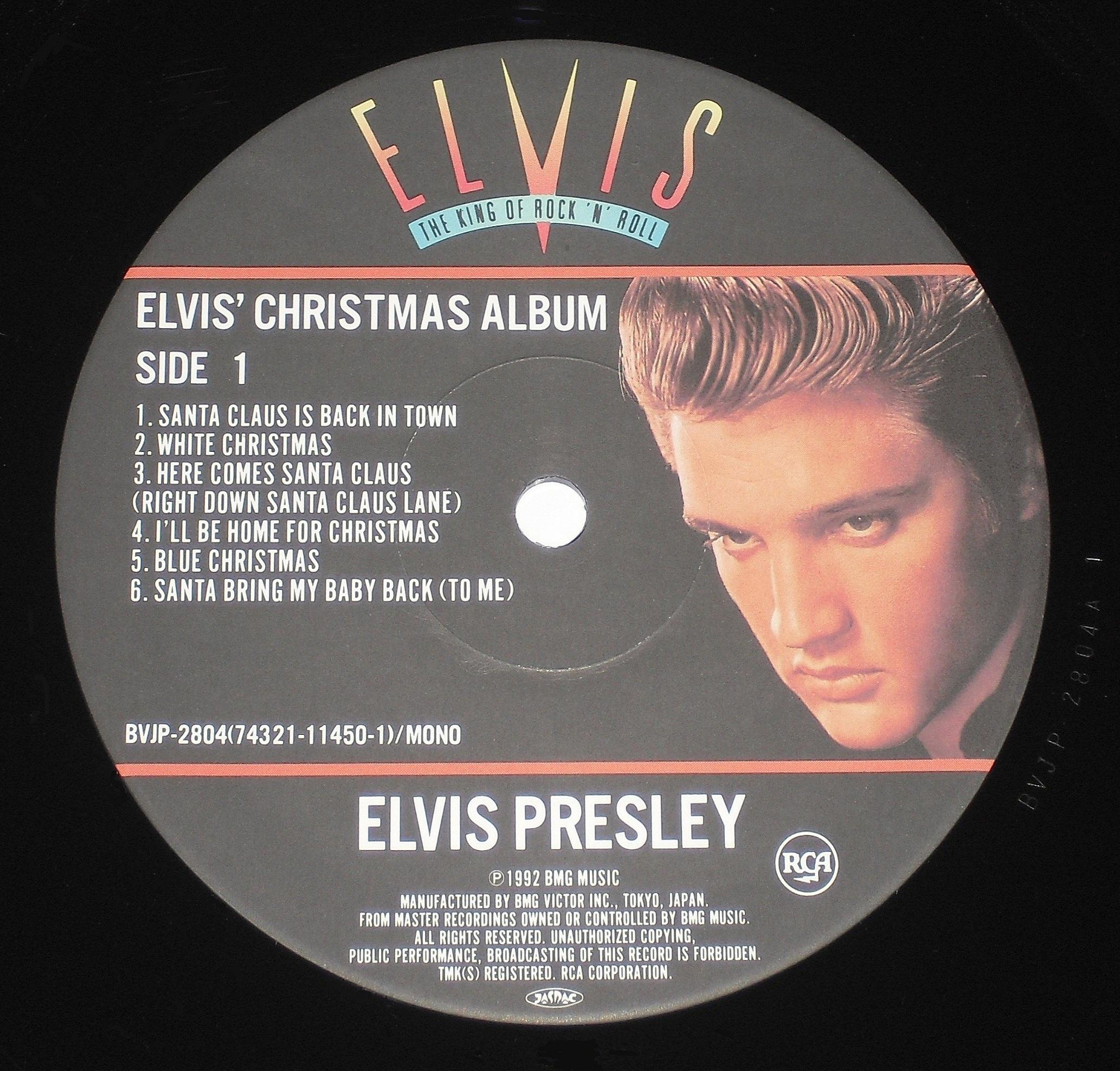 ELVIS' CHRISTMAS ALBUM 03s1ztull