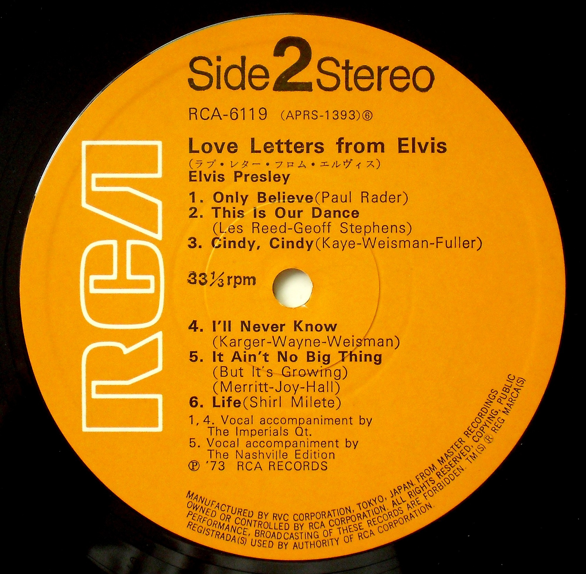 LOVE LETTERS FROM ELVIS 03s2vmc9o