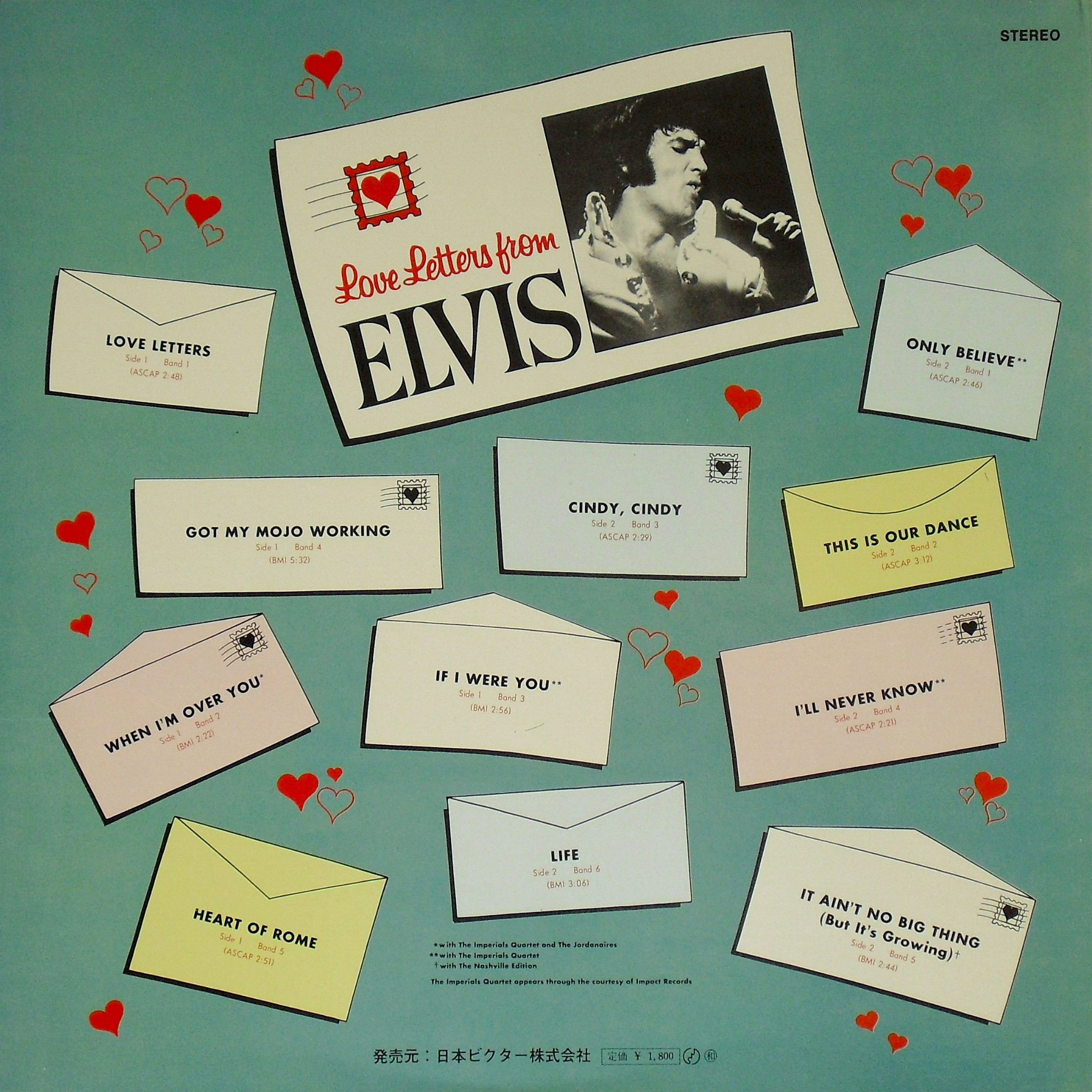 LOVE LETTERS FROM ELVIS 03yhqvf