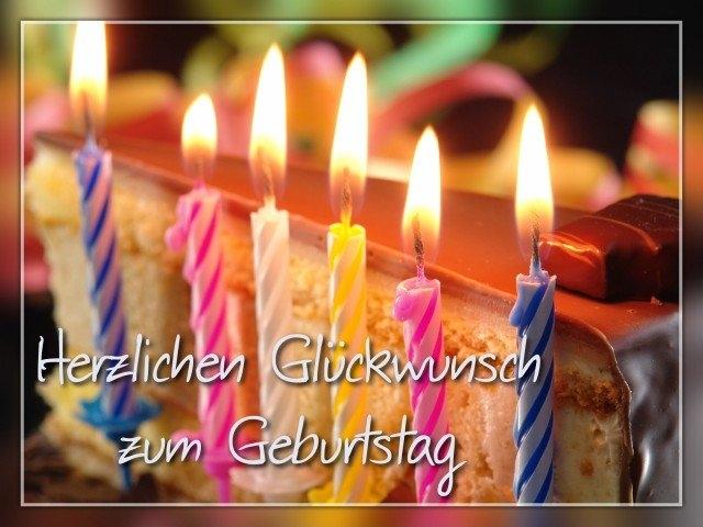 Поздравления на немецком языке с днем рождения 85