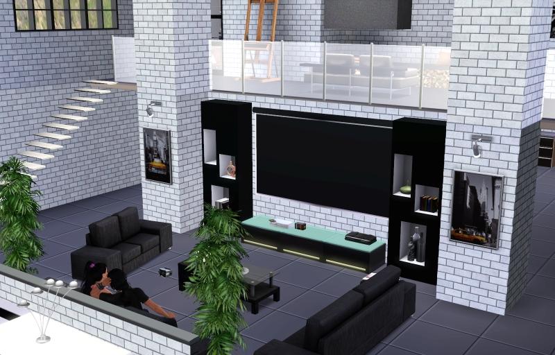 sims 3 wohnzimmer ideen ~ beste bildideen zu hause design - Sims 3 Wohnzimmer Modern