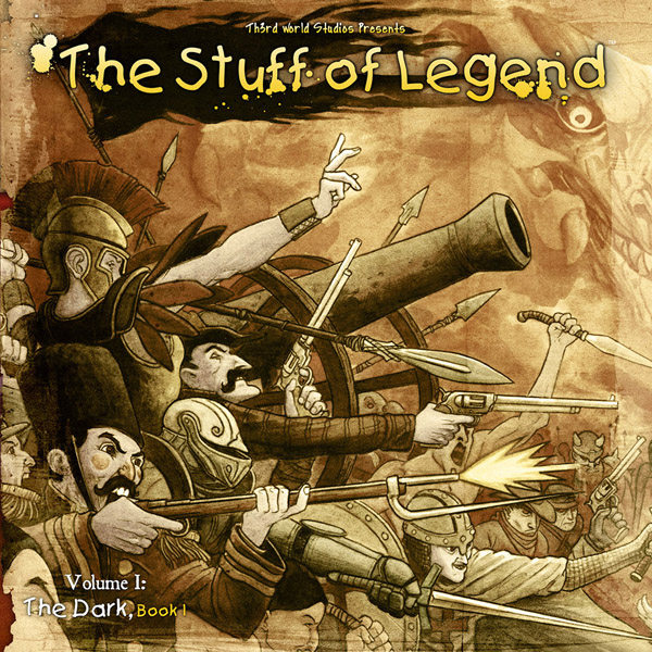 The Stuff of Legend Vol.1 #1-4 + FCBD (2009-2010) Complete