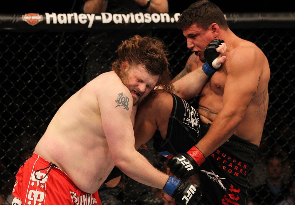 Nelson hatte nichts zu Lachen gegen Mir (Foto via UFC.com)