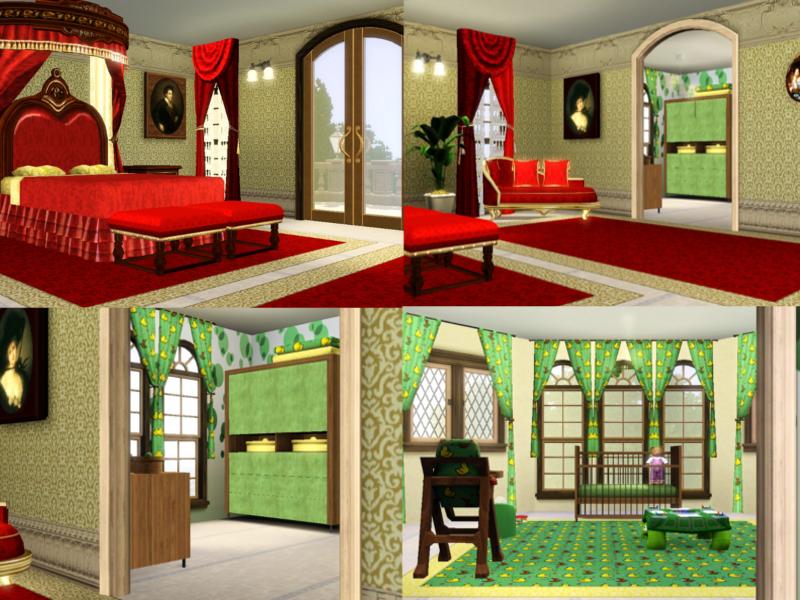 Vorstellung schloss simsidilly das gro e sims 3 forum von und f r fans - Sims 3 babyzimmer ...