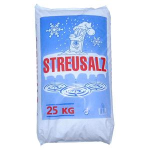 ebay: 25kg Streusalz / Auftausalz schon ab 6,50€ inkl. Lieferung - ohne Schleppen