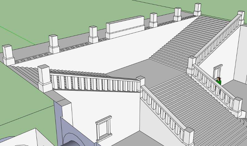 Grundrisse Zeichnen Mit Sketchup : First Look  Projektvorstellungen > Kopfbahnhof im Neorenaissance