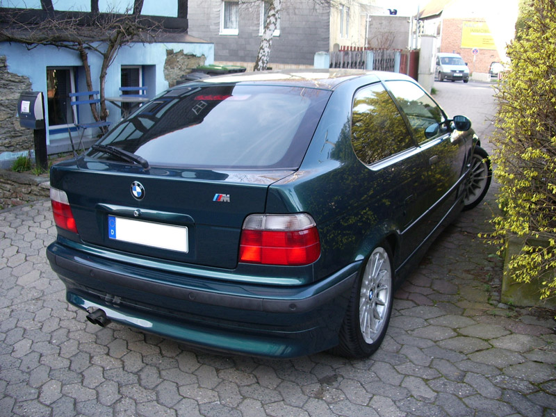 323ti Compact - Update: Styling 32 lackiert - 3er BMW - E36