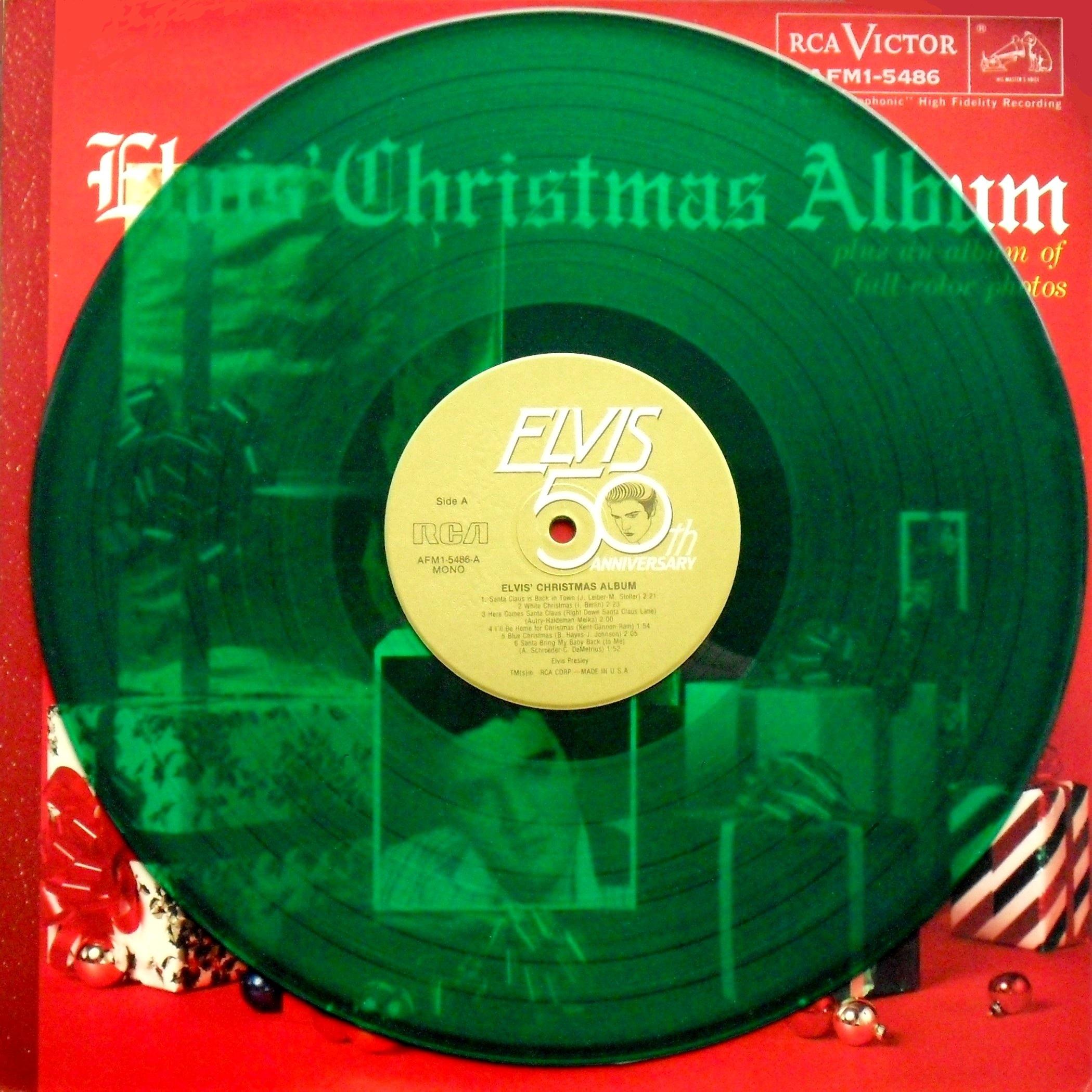 ELVIS' CHRISTMAS ALBUM 08gvj95