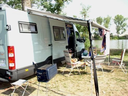 Campingplatz am Tiber