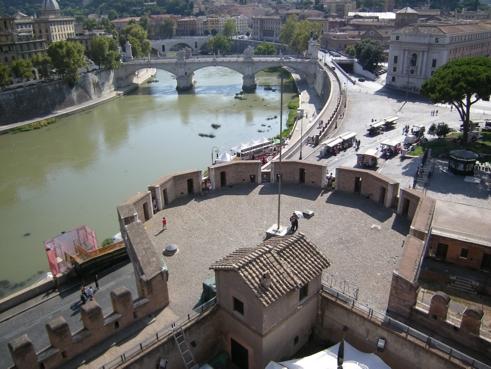 Blick auf den Tiber