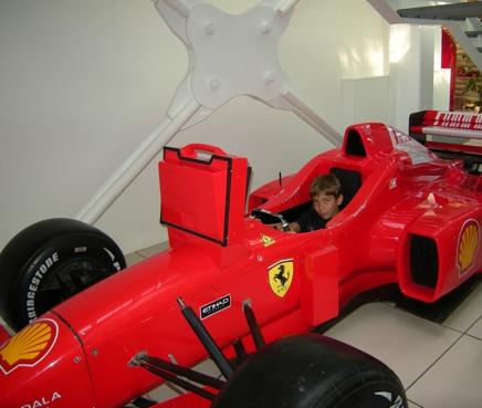 ein neuer Ferrari-Pilot?