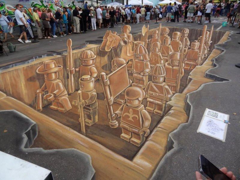 Sztuka uliczna w 3D #2 32