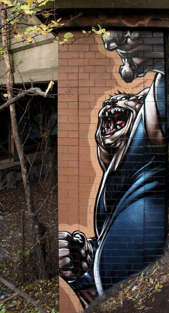Realistyczny street art 25