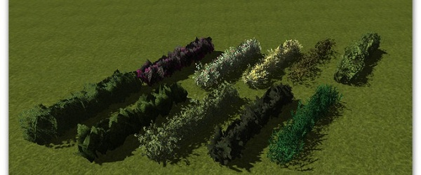10 Hedges –  Farming Simulator 2013 Mod
