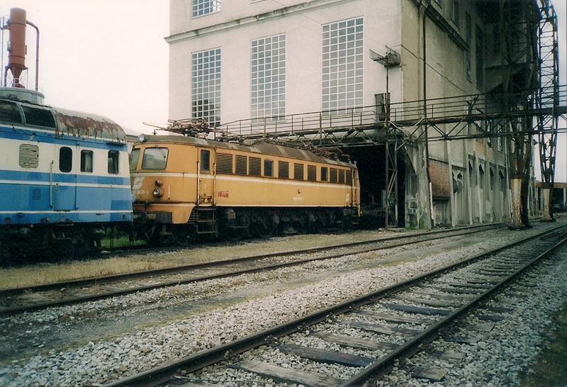 Mit dem Eilzug von Bregenz nach Linz ca. 1984 1018.10001fxvpy