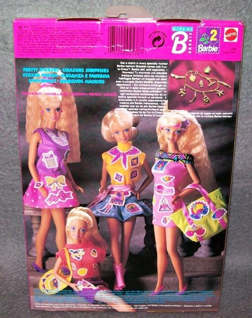 Barbiekleidung sticker moden ovp nrfb mattel 80er 90er for Lampen 90er jahre