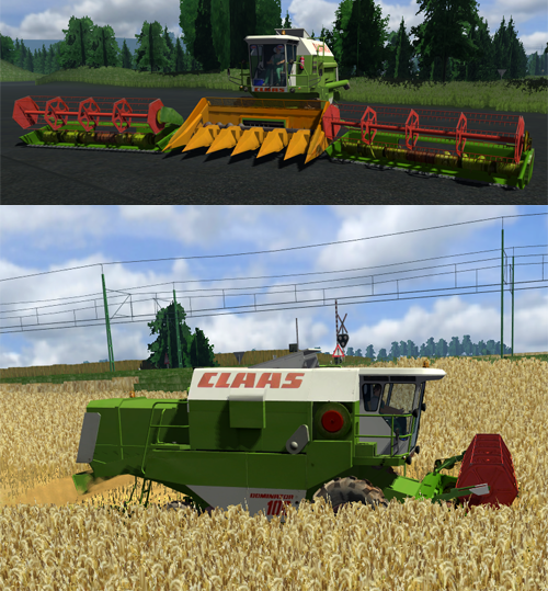 CLAAS Dominator 106 Pack (AP) Fixed