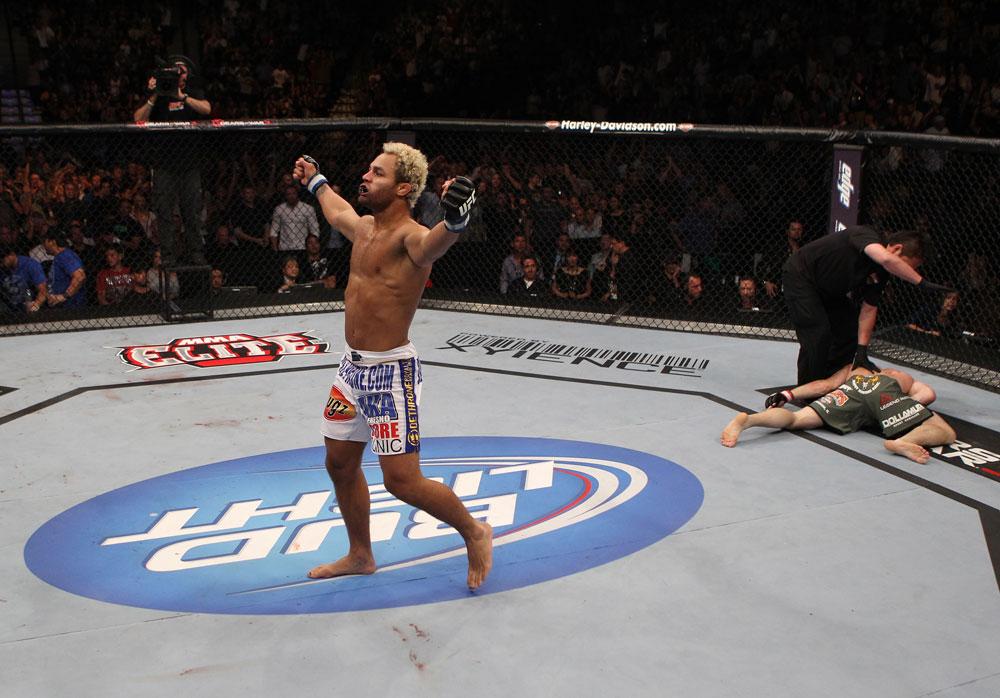 Koscheck feiert (Foto via UFC.com)