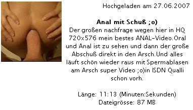 Cover: malibu500 - Anal mit Schuß ;o)
