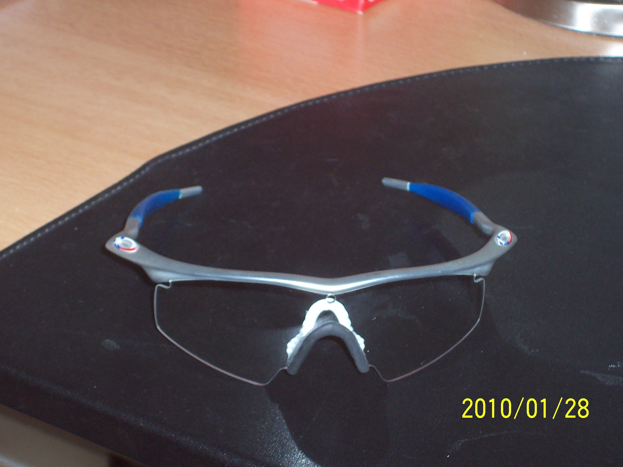 Oakley pro M-frame mit Strike clear lens