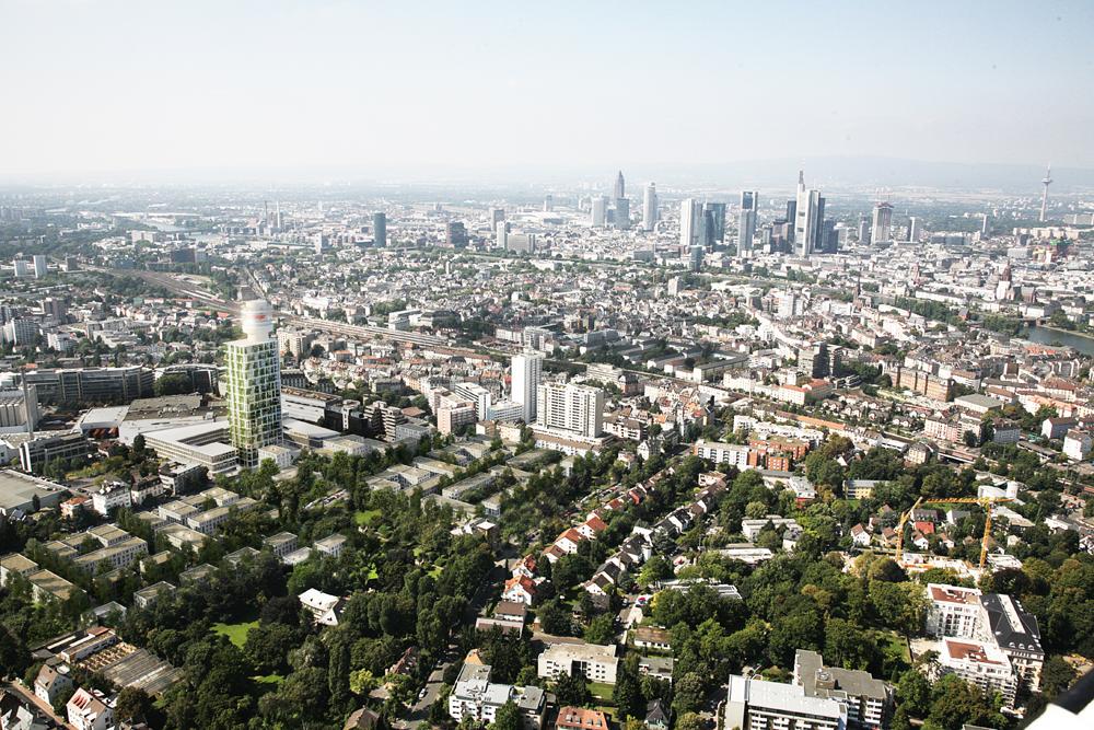 Frankfurt neuer henninger turm brauerei areal 140m - Architekturburo frankfurt ...