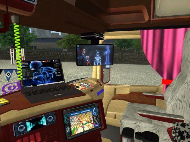 Scania v8 Interior super 12417378624uck