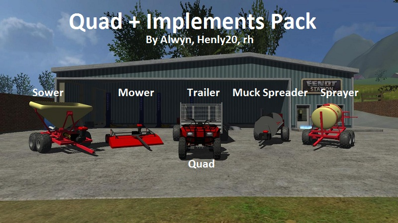Description: Pack by: Alwyn, Henly20 and rh.