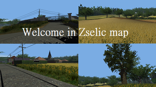 Welcome in Zselici map