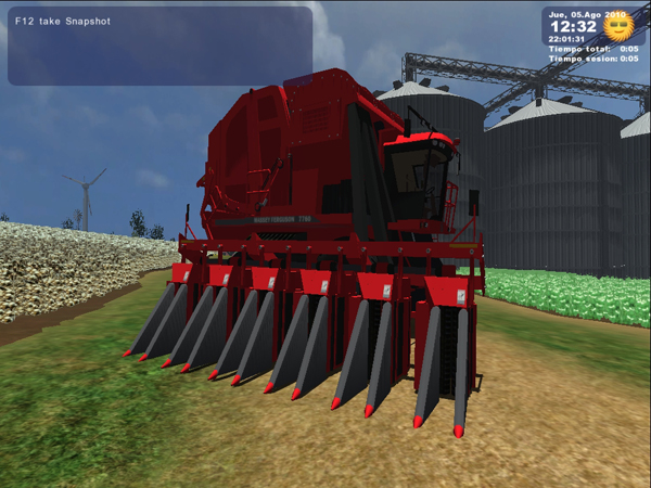 MF 7760 Cotton Combine
