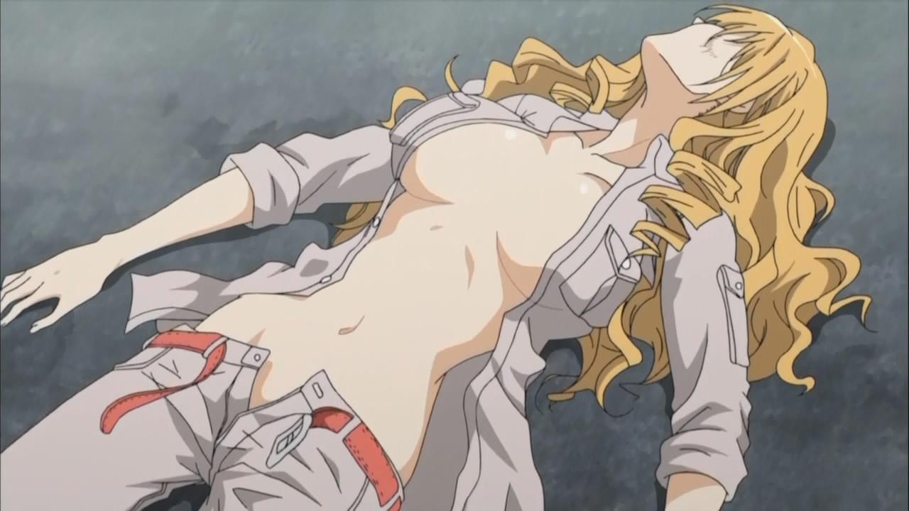 Anime Frau mit Orgasmen