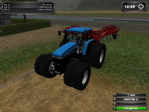 New Holland 8970a With Duals