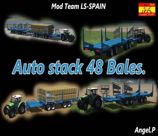 Auto Stack 48 Bales