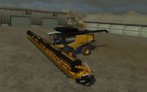 CLAAS Lexion 770 American Version Oversize Pack
