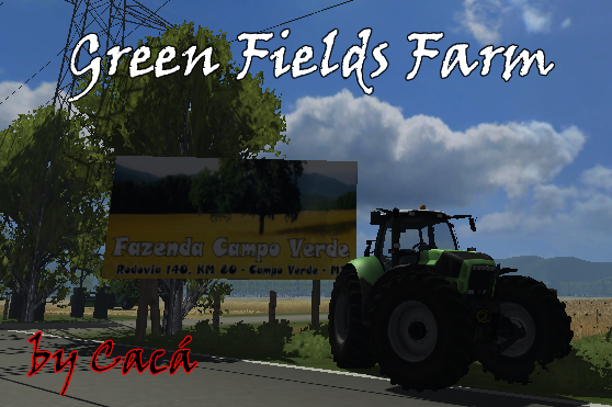 Green Fields Farm Map