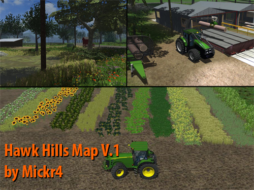 Hawk Hills Map V.1 by Mickr4