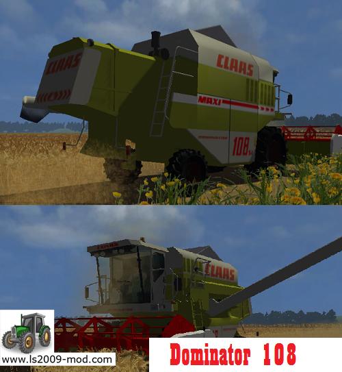 CLAAS Dominator 108 Maxi