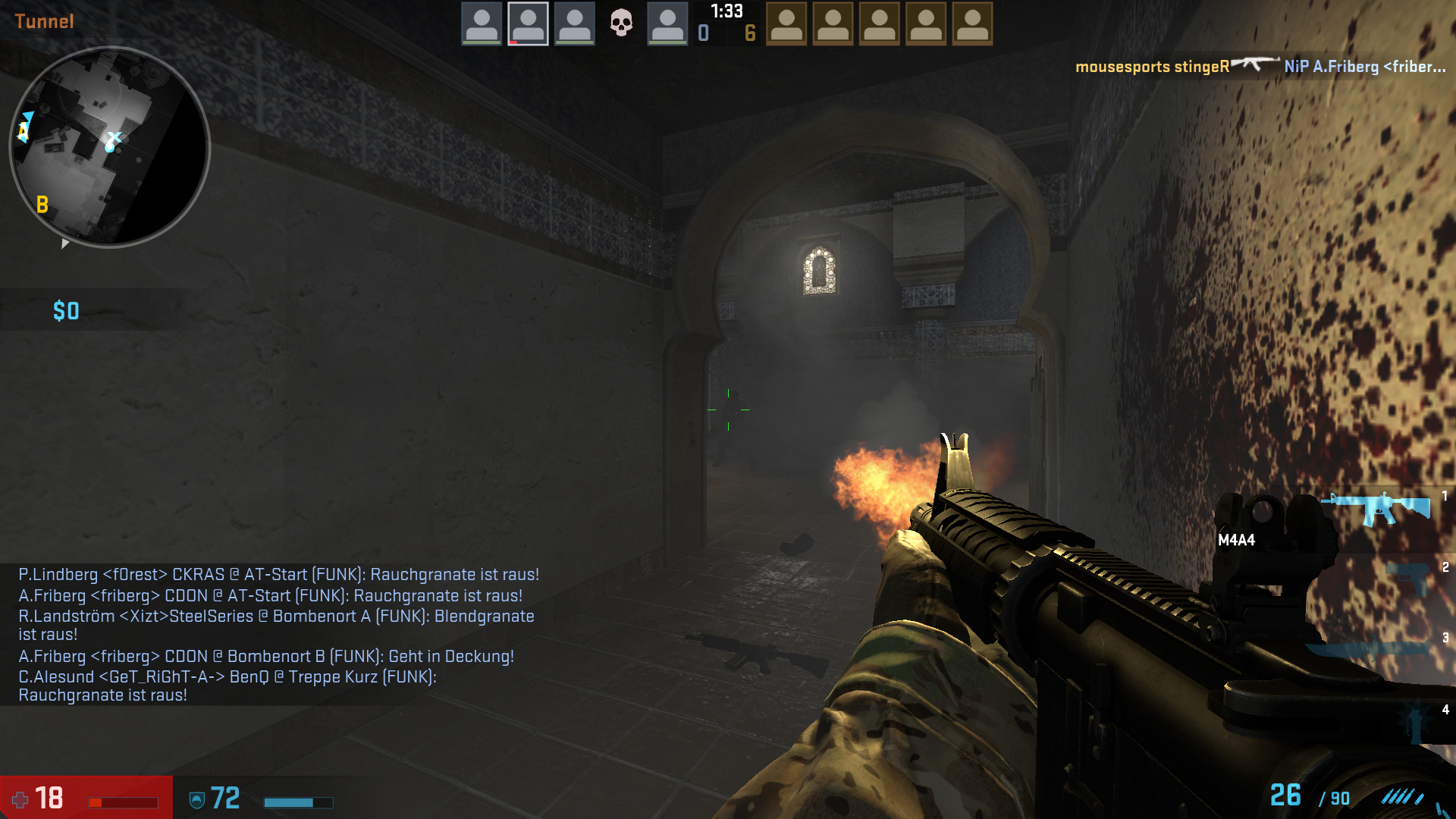 how to change hud color in csgo