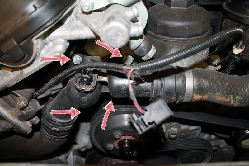 Einbauanleitung - Thermostat - E46 - How to do - BMW E46 Forum