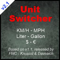 Unit Switcher Farming Simulator And Mods