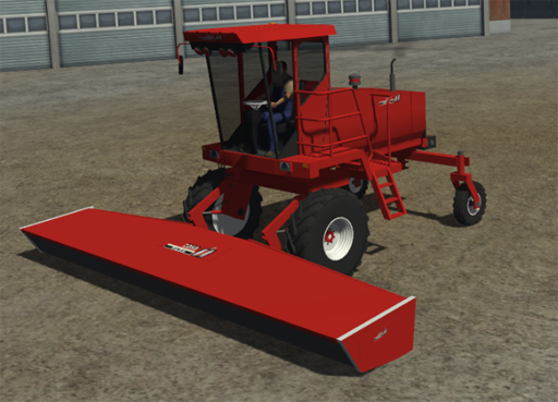 Claas Swather + Header RESKIN