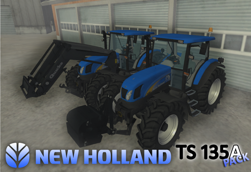 New Holland TS 135A Pack