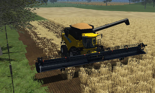 New Holland CR9090 Aussie edit